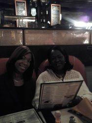 Courtney & Patricia celebrating Patricia's 43rd Birthday at Havana Central in Time Square