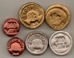 2011 Clay Tokens