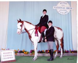 Jodie and Legacy Reserve National Champion