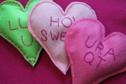 Conversation Heart Style Heart-Warmers