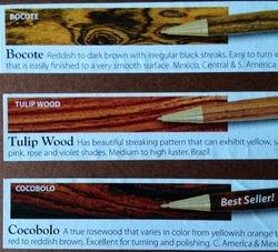 Wood - Exotic Hardwoods