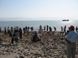 Orillas del Mar de Galilea