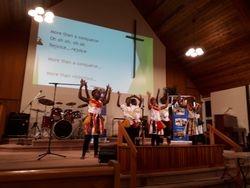 7 wells African children's choir sings & dances