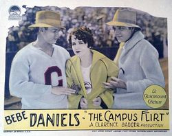 Promo ad from  'The Campus Flirt'