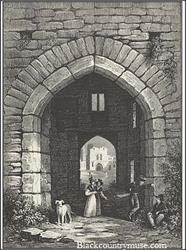 Castle Gateway. 1837.
