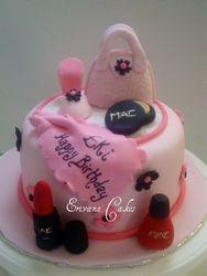 Pink girlie Cake(SP049)