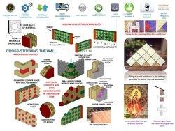 Hollow-core Interlocking Blocks