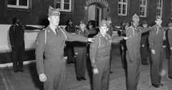 1 Inf. Div., 26 Inf. Rgt. duty in Germany: