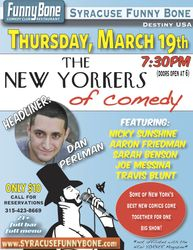 The New Yorkers of Comedy