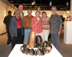 A group at Ink & Clay, March 2010