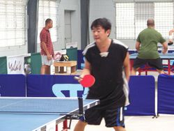 Francisco Ming top A-Division player