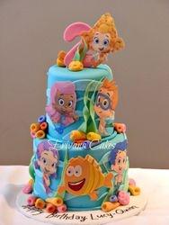 Bubble guppies Cake 2