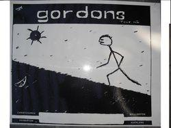 The Gordons Tour Poster