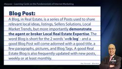 Blog Post - SEO Short Definition for Real Estate