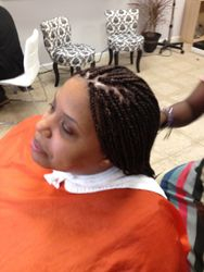 Box Braids with synthetic Hair