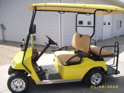 2010 New 48 Volt Star Electric Vehicle with back seat