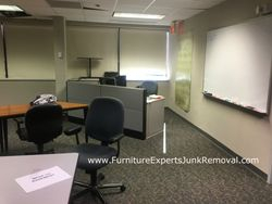 Junk office cubicle removal in fairfax VA