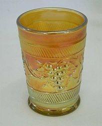 Vintage Banded tumbler - marigold