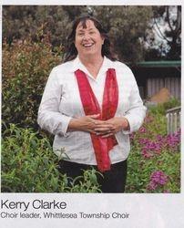 Kerry Clarke Choir Leader Whittlesea Township Choir