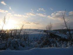 Jan 10, sunset snow 6