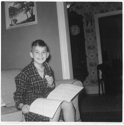 My birthday 1957 (?)