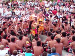Second Stage of Kecak Dance