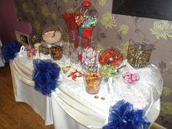 Candy buffet 30th birthday.