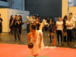 Kei Asanuma - Martial arts stage