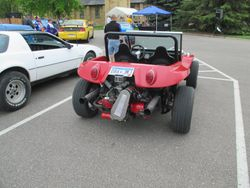 1977 vw bug made into a dune buggy,  way cool