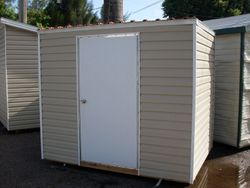 4 x 8 with min. pitch and permatile roof