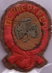 Cloth First Class Badge