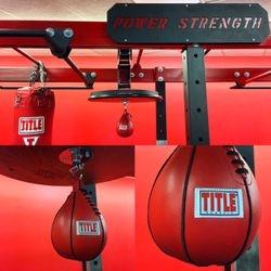 Speed Bag & Boxing Bag