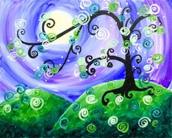 """Whimsical tree"""