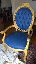 Tissu peint Napoleonic Blue