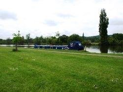 Thames mooring