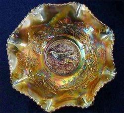 "Magpie 9"" master bowl, marigold"