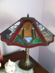 6 Sided Red Lamp Lighthouse