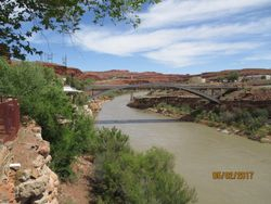 Bridge at Mexican Hat