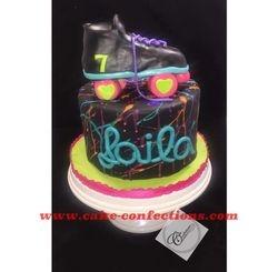 Skate Themed Cake