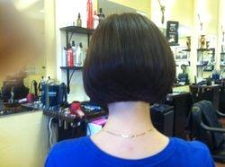 Perfect Stacked Bob Haircut!