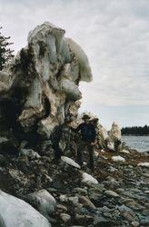 melting ice shelf- St. John