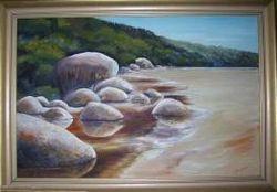 'Tidal River, Wilsons' Prom., Vic.'