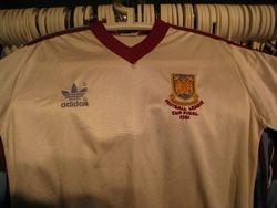 1981 League Cup Final shirt