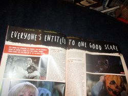Title Banner of Everyone's Entitled to One Good Scare in Starburst Magazine #474: Everyone's Entitled to One Good Scare Collectors' Edition at The Wombatorium 2.0: A Capital Idea