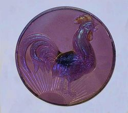 Sun's Up hatpin - lavender, pale iridescence