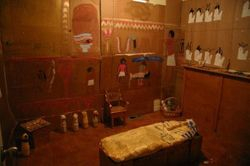 Our Ancient Egyptian tomb!