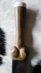 Detail klotendolk 14e eeuw