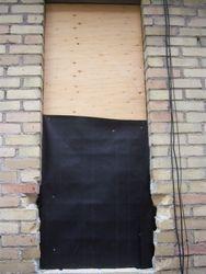 Window Bricked.