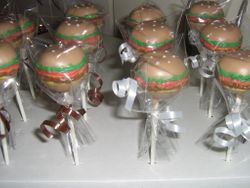 Hamburg Cake Pops