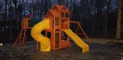 Cedar Summit Adventure Ridge playset installation in Rockville MD